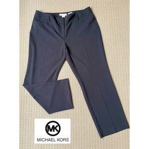 Michael Kors women black straight leg pants AU20